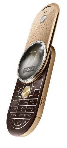Aura Diamond, móviles de lujo de Motorola