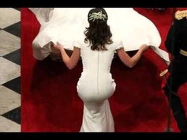 Pippa Middleton llevó el trasero más relleno que los labios de Carmen de Mairena