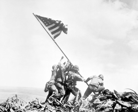 Flag Raising On Iwo Jima February 23 1945 Joe Rosenthal Associated Press Navy Nara File 080 G 413988 War And Conflict Book 1221 Hd Sn 99 02880 141c702ee4e567a6b11 2