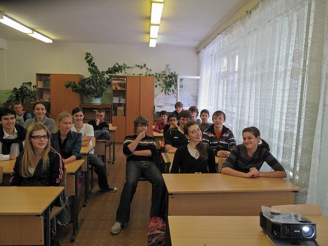 Alumnos de Secundaria