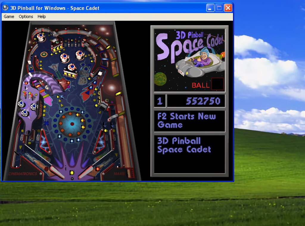 El Pinball de Windows XP funcionaba a más de 1.000.000 fps hasta que