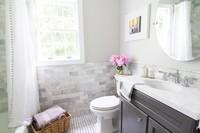 Antes y después: renovación completa de paredes y suelo en el cuarto de baño