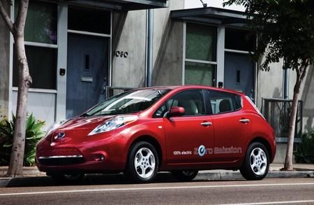 Nueva aplicación para estimar la autonomía del Nissan LEAF