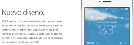 nuevo diseño iOS 7