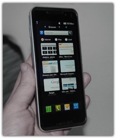 LG GW990, primer teléfono en hacer uso de la platafoma Moorestown de Intel
