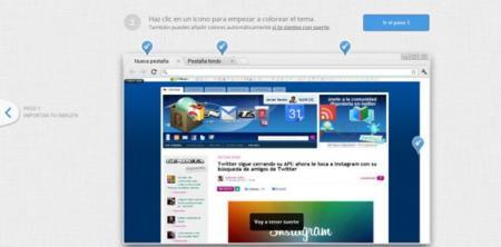 My Chrome Theme, extensión para crear tu propio tema