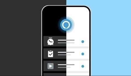La aplicación de Alexa para iOS y Android se actualiza ofreciendo el modo oscuro automático