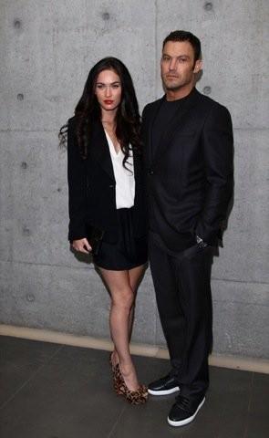 El look más formal de Megan Fox en la Semana de la Moda de Milán