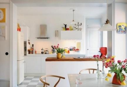 Casas que inspiran: aprovechar bien el espacio también en una casa amplia