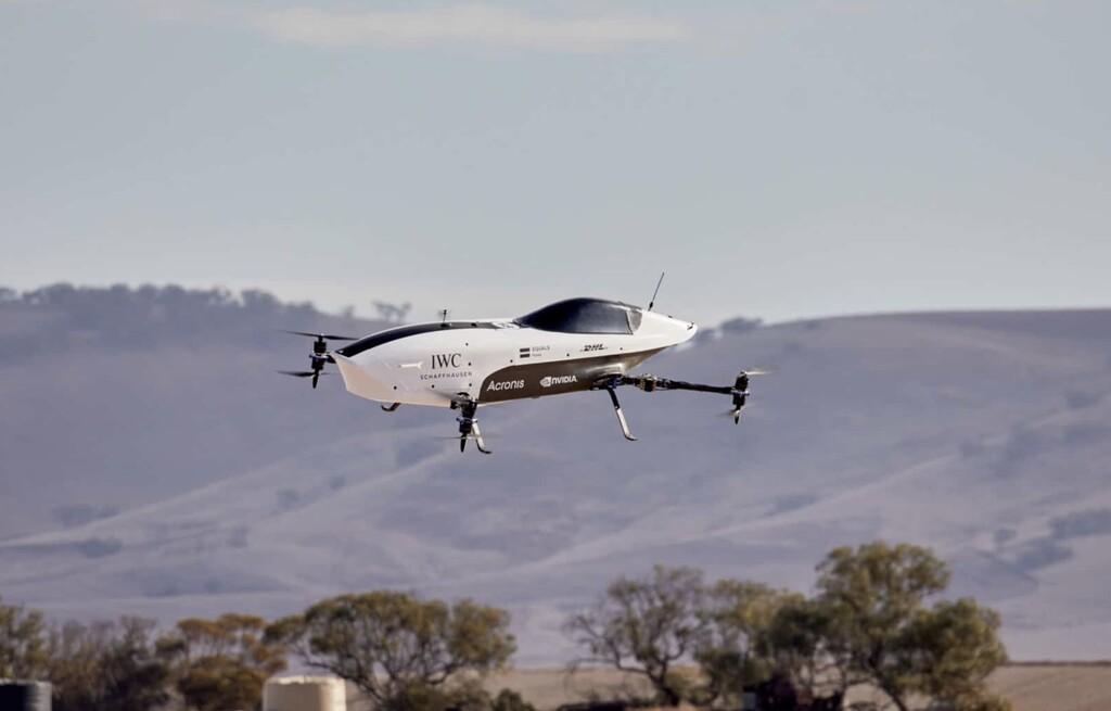 Airspeeder, considerado el primer coche de carreras volador, realiza su primer vuelo