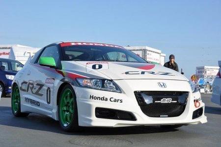 Honda CR-Z con pinturas de guerra