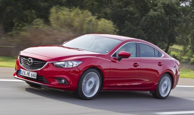 Mazda6 2013 rojo Skyactiv-D