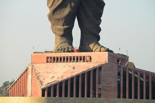 La estatua más alta del mundo se abre al público en India