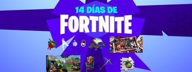 Todos los regalos y desafíos de los 14 días de Fortnite