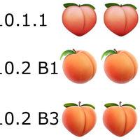 La tercera beta de iOS 10.2 nos devuelve el mejor uso para el emoji del melocotón