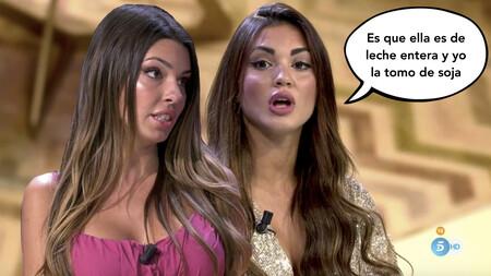 El tenso enfrentamiento entre Andrea Gasca y Melodie Peñalver en el debate de 'La Isla de las Tentaciones'