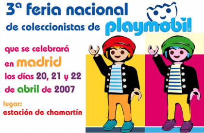 III Feria de coleccionismo de Playmobil