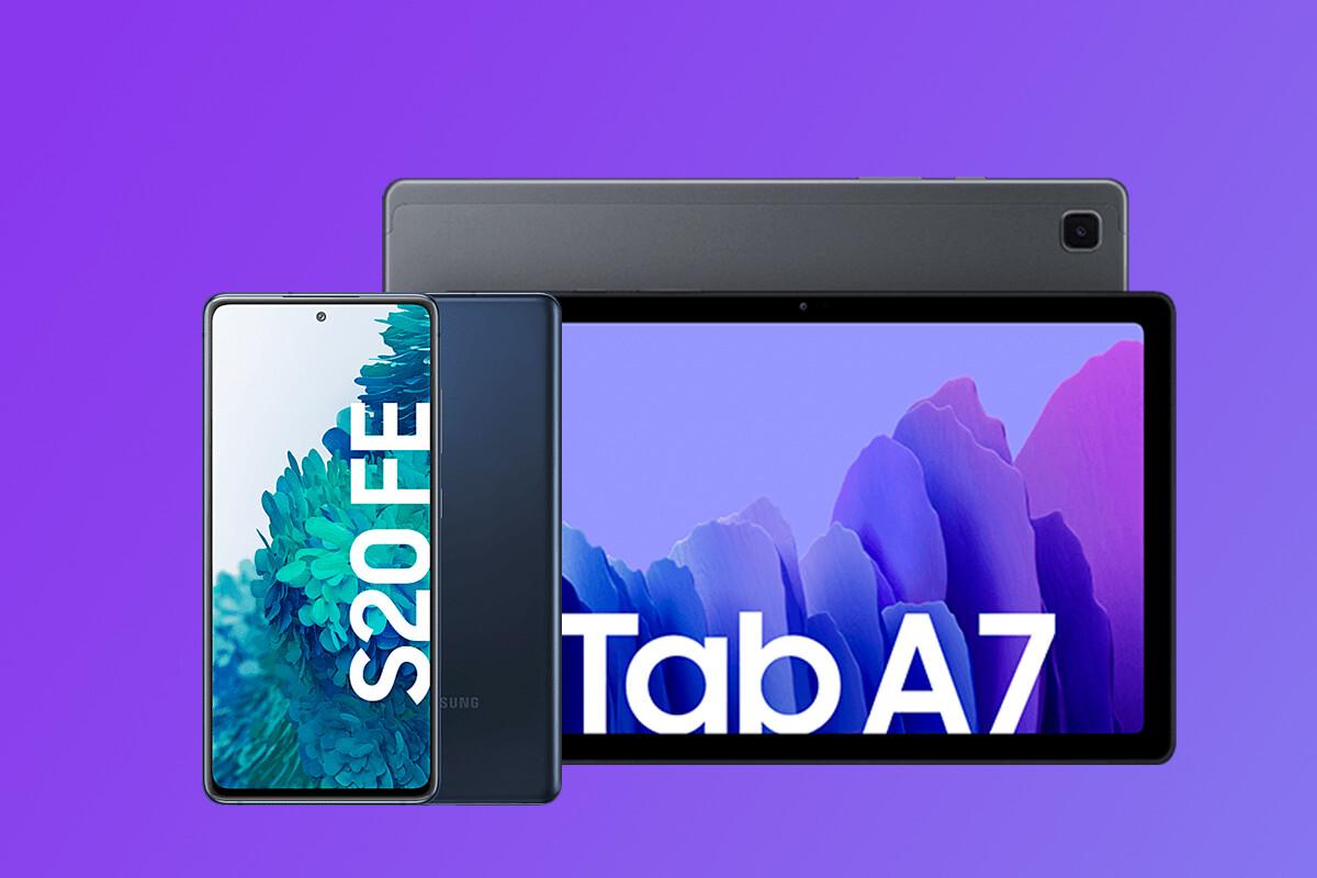 Chollo pack Samsung Galaxy S20 FE + Galaxy Tab A7, Samsung Galaxy A52 más barato y más: mejores ofertas de la Samsung Galaxy Week
