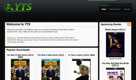 El tracker YTS.im toma el relevo de Popcorn Time
