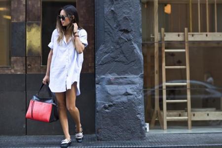 Vestidos camiseros tendencias verano 2014