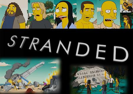 Referencias seriéfilas en 'Los Simpson'