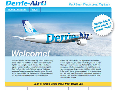 La compañía aérea que cobra por kilo... de pasajero