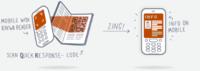 Kaywa Reader, lector de códigos QR-CODE, ojo, no BIDI