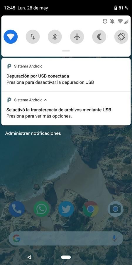 Android Depuracion Usb