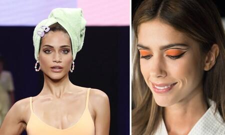Cómo hacer en casa el maquillaje de ojos más bonito de Gran Canaria Swim Week 2020: delineado gráfico paso a paso