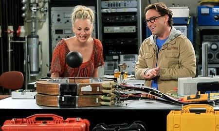 Penny y Leonard en la sexta temporada de