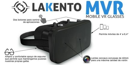 Mañana se empezará a vender Lakento MVR, el Oculus Rift low cost español