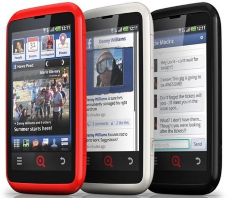 INQ Cloud Touch, donde Facebook y Android se encuentran