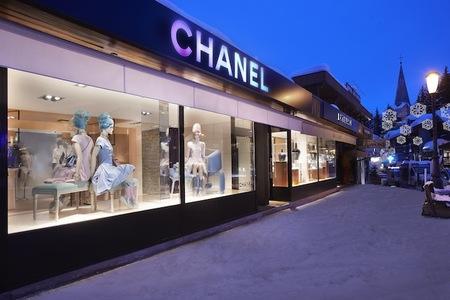 Chanel vuelve a abrir su tienda efímera en Courchevel