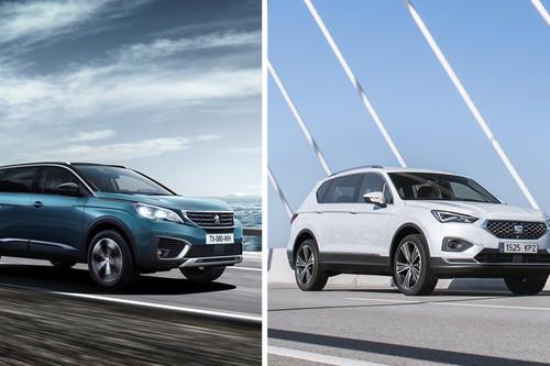 SEAT Tarraco vs. Peugeot 5008: ¿Cuál C-SUV de tres filas de asientos hay que comprar?