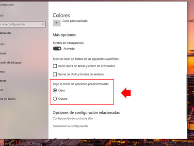 Cambiar entre el modo oscuro y modo claro en Windows 10 es muy fácil con sólo seguir estos pasos