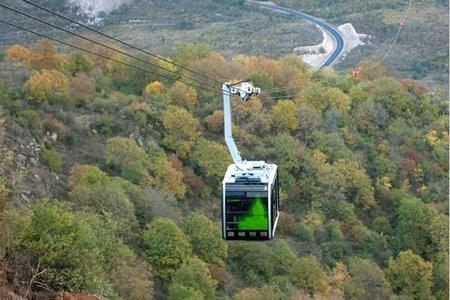 El teleférico más largo del mundo abre en Armenia