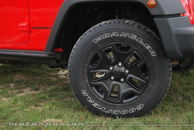 Jeep Wrangler Moab rueda