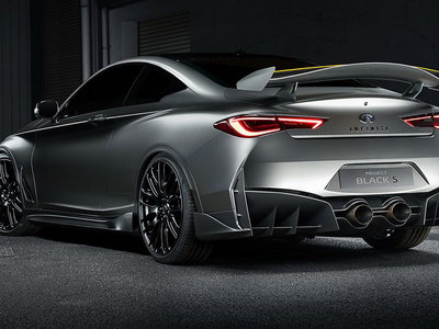 Infiniti Q60 Project Black S concept: un potentísimo híbrido de 500 CV, al estilo 'Need for Speed'