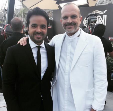 Luis Fonsi Con Miguel Bose