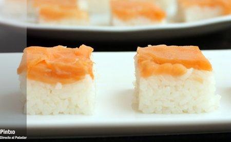 Cómo hacer Oshisushi o sushi prensado