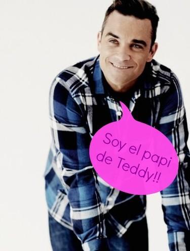 Ohhh... Robbie Williams ya es papi