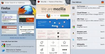 La versión nativa de Firefox para Android llega a Google Play. Más rápida y con soporte de Flash