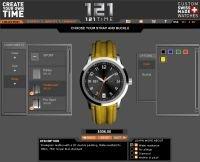 Diseña tu propio reloj suizo