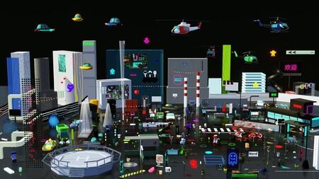 Cyberpunk Decentraland
