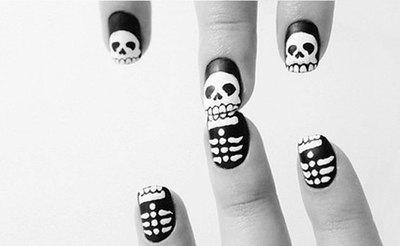Manicura Halloween: El nail art ataca en la noche del miedo
