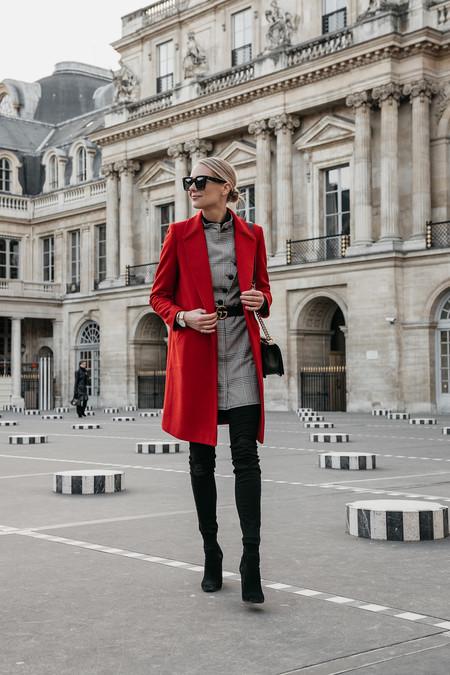 Combinar Abrigo Rojo 03