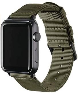 Archer Watch Straps | Repuesto de Correa de Reloj de Nailon para Apple Watch, Hombre y Mujer, 38/40mm, 42/44mm