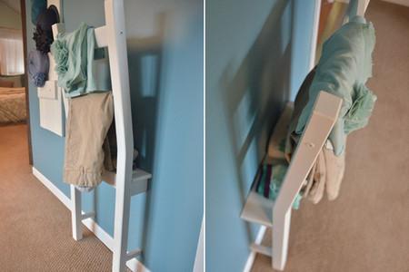 ¿Buena o mala idea? Una silla convertida en percha