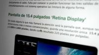 Las pantallas 'Retina' de 13 pulgadas de Apple podrían estar ya produciéndose