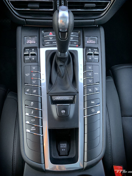 Porsche Macan S botonera